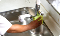 京都 水まわり専門 キッチン清掃