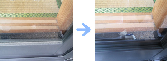 京都 水まわり清掃専門 窓ガラス清掃